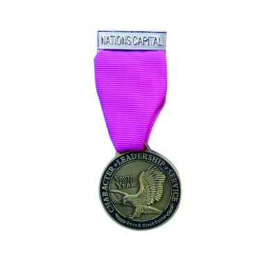 National capital awards medal Youth of year