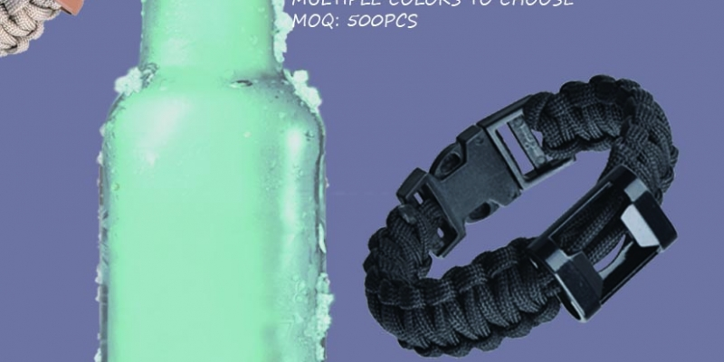 paracord bottle opener wristband